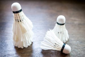 badminton shuttlecocks