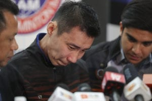 lee chong wei press conference