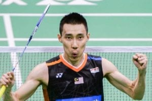 lee chong wei cheering