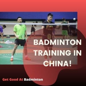 badminton training program in china