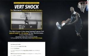 vert shock website